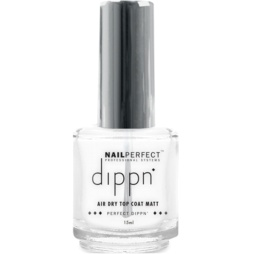 Nail Perfect - Dippn - Air Dry Top Coat - Matt